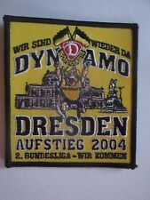 A285 AUFNÄHER SG DYNAMO DRESDEN DFV DDR Sport Fußball Oberliga Ultras Bundesliga