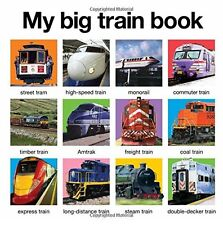My Big Train Book (board Book) by Roger Priddy NEW