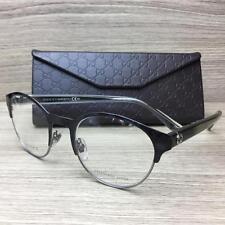 Gucci GG 4275 Eyeglasses Frames Blue Havana Ruthenium Crystal H3Z Authentic 50mm