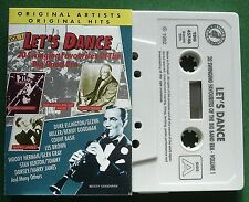 Let's Dance Big Band Era Favourites Woody Herman + Cassette Tape - TESTED