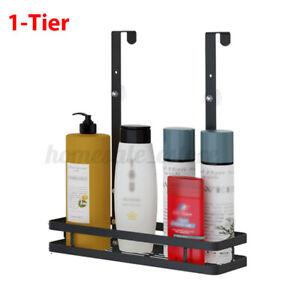 Bathroom Hanging Storage Rack 1/2 Tier Shower Caddy Shelf Holder Stainless Steel