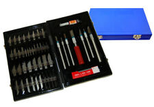 56 Pc Precision HOBBY MODEL KNIFE SET KIT Craft Razor