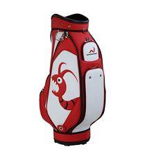 NUOVO tarli Golf giocatore premio Personale Borsa Da Golf Wht/Red