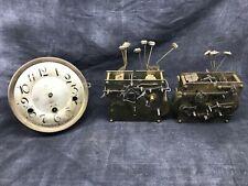 trois mouvements mécaniques carillon type WESTMINSTER ancien no odo horloge