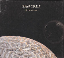 ZION TRAIN - live as one CD