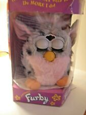 Furby - Grey and Pink - Vintage 1998