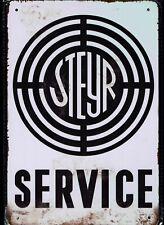 **Tolle Deko Garage Werkstatt Steyr Service  Sammler Öldose Tankstelle**