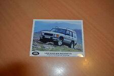 PHOTO DE PRESSE ( PRESS PHOTO ) Land Rover Discovery ES  de 1998 R0151