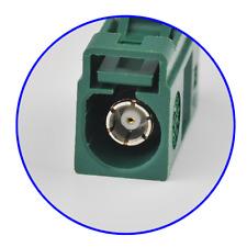 Fakra crimp Jack OME anatenna connector Green Car TV1