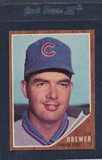 1962 Topps #191 Jim Brewer Cubs EX 62T191-52516-1