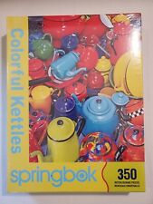 Springbok Jigsaw Puzzle Colorful Kettles 350 Pcs
