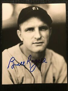 Bill Rogell Signed Autographed Detroit Tigers 8X10 Baseball Auto Photo