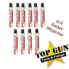 10 x Fischer High Performance Gas Fits Paslode IM350 1st Fix Framing Nailer