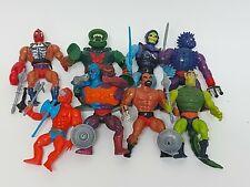 MOTU He Man Masters of the Universe BAD GUYS Figure Lot Skeletor Beast Man Jitsu