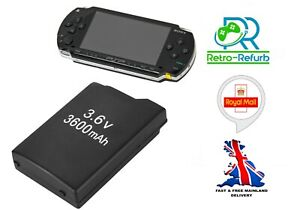 Replacement Battery For Sony PSP 1000 Console 3600mAh 1001 1002 1003 1004