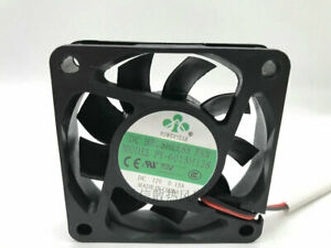 1pcs   New POWERYEAR 6015 PY-6015H12S 12V 0.15A 6CM 2-wire cooling fan