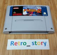 Super Nintendo SNES F1 Pole Position 2 PAL