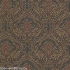 Cypress Paisley Damask Wallpaper - Rose FD21217