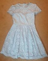 Asos Lace Fit & Flare Style Dress Uk Size 10 New