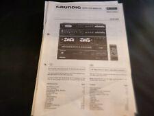 Original Service Manual Schaltplan Grundig CCD 650