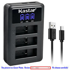 Kastar Battery LCD Triple Charger for GoPro AHDBT-801 Hero 8 & GoPro HERO8 Black