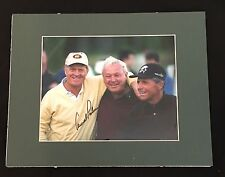 ARNOLD PALMER & GARY PLAYER SIGNED 8x10 AUTO AUTOGRAPH PGA CHAMPIONS NICKLAUS