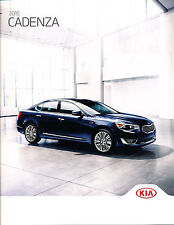 2015 Kia Cadenza 24-page Original Car Sales Brochure Catalog