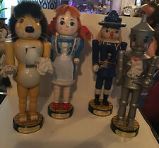 Kurt Adler Wizard of Oz Nutcracker Collection Set of 4 Dorothy Christmas