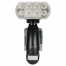 ESP GuardCam LED Security Floodlight, Camera, CCTV & Intruder Detector In Black