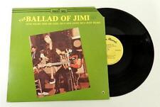 THE BALLAD OF JIMI ~ THE NARDEM TAPES LP VINYL ALBUM RECORD !  ORIGINAL 1981