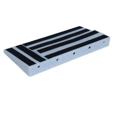 Guitar Pedal Board Abs Plastic Lightweight Pedalboard 19.68 x 9.84inch