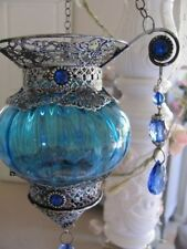 Unbranded Glass Moroccan Candle Holders & Accessories