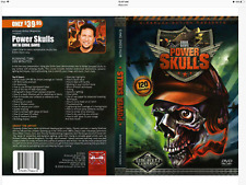 AIRBRUSH ACTION DVD - POWER SKULLS WITH EDDIE DAVIS - WICKED COLORS