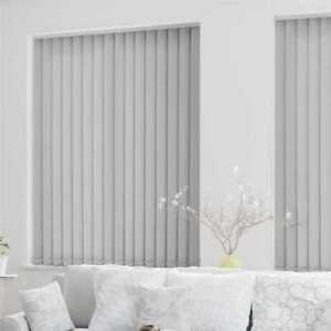 Complete Grey Blackout Made To Measure Vertical Blind - Best Price