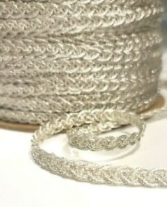 12 Yards of 3//8 Rosebud Braid Gimp Trim Great for Craft Black Dolls and More ~ Choice of 4 Colors