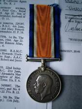 More details for officer ww1 british war medal lt o'gorman acton royal fusiliers & liverpool regt
