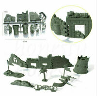 Plastic Model Playset Toy Military Weapon Army Sand Scene Model Toy Xmas Gift