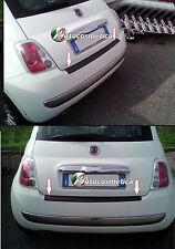 Fiat 500 2007 - 2015 Ladekantenschutz aus Carbon mit Abkantung