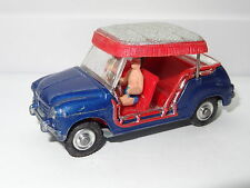 corgi FIAT 600 JOLLY METALLIC DARK BLUE - 240