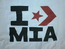 I CONVERSE MIA T SHIRT Heart Love Hamm St. John Star Stripe Female Athlete Sport