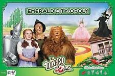 The Wizard Of Oz EMERALD CITY-OPOLY Collector's Edition Monopoly Board Game NEW