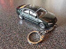 Diecast Audi A8 Saloon Green Toy Car Keyring Keychain