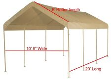 Canopy Kit - 12 fittings and Valance Top, Makes a 10 X 20  canopy Frame- No Pipe