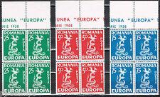 Roemenië Europa 1958 anti-communistische propaganda - cinderella blokken van 4
