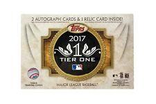 Topps Tier One 2017 Baseball Hobby Pack