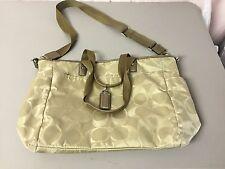 Coach Handbag Purse Pocketbook Tan #7