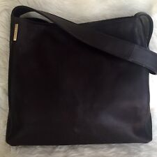 ❤️ MARCO BUGGIANI ITALY Brown Pebbled Leather Shoulder Handbag #350
