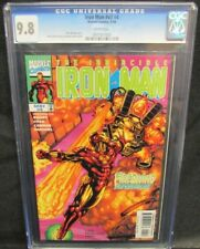 Iron Man #v3 #4 (1998) Chen & Parsons Cover CGC 9.8 White Pages L100