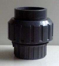koi Fish Pond Pump Filter Pipe Fitting Pet Supplies 50mm-50mm In Line-sight Glass Filter Media & Accs.