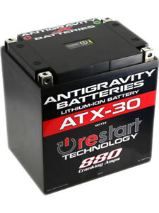 Antigravity Batteries Lithium Battery 880CCA 12 Volt 5.75lbs. (AG-ATX30-RS)